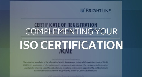Complementing Your ISO Certification - AT 101