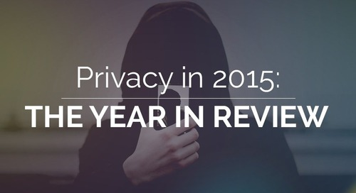 Privacy in 2015: The Year in Review