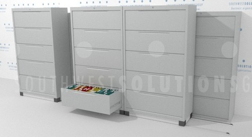 How to Expand Lateral File Cabinet System When Out of Floor Space