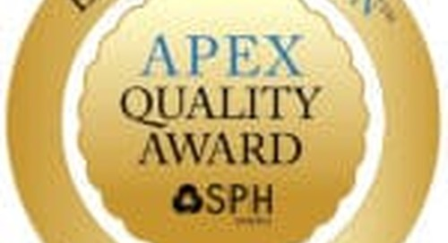 SPH Analytics Announces National APEX Quality Award Winners for Healthcare Excellence