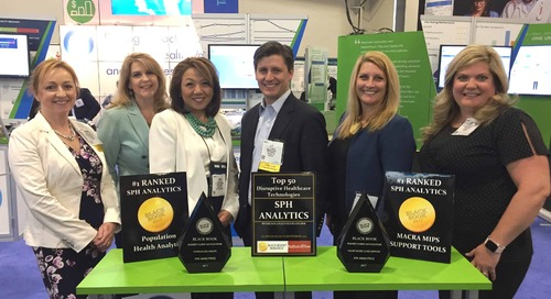 SPH Analytics Awarded 2017 Highest Client Satisfaction for  Population Health Vendor and Value Based Care Support