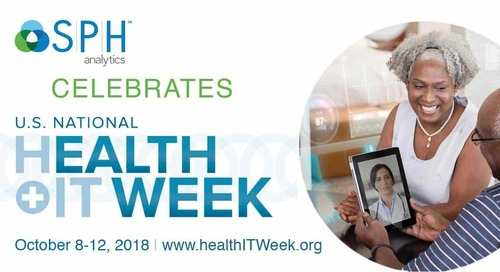 SPH Analytics is a Proud Partner in U.S. National Health IT Week