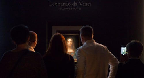 Da Vinci's Salvator Mundi is World's Most Expensive Painting