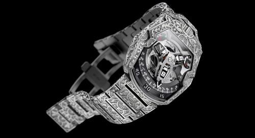 Urwerk Creates Hand Engraved Dubai-Inspired Timepiece