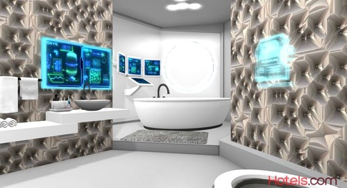 Marriott Unveils the Hotel Room of the Future