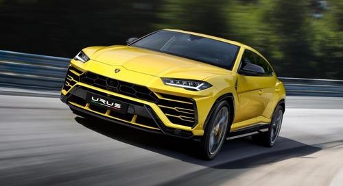2019 Lamborghini Urus a Supercar in SUV Clothing