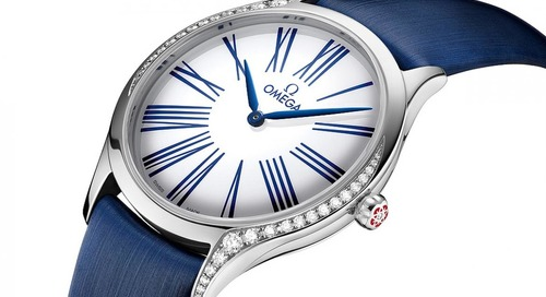 Omega Revamps De Ville Collection with Women's Watches