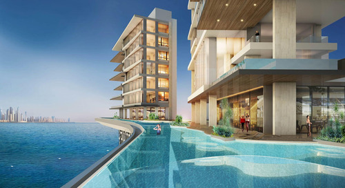 Raffles Hotel in Dubai to Feature World's Largest Sky Pool