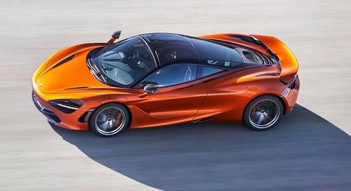 McLaren 720S Named Evo Car of the Year 2017