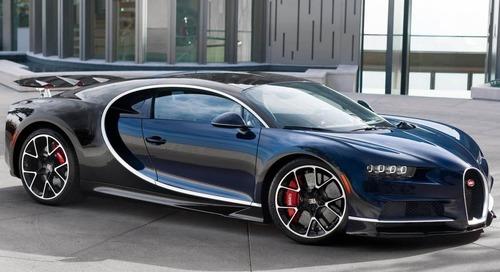 Bugatti Chiron Supercars to go Under the Hammer