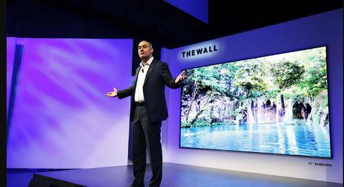 Samsung Unveil 146-inch Modular 4K TV in Las Vegas