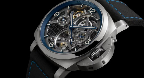Panerai Launches Updated Version of its 3D Printed Tourbillon
