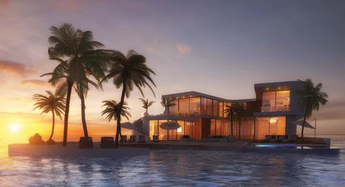 Dubai Development to Feature Luxury Floating Villas