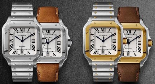 Cartier Reinvents Classic Santos Timepiece