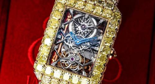 "Jacob & Co Launch $6m Yellow Diamond ""Millionnaire"" Watch"