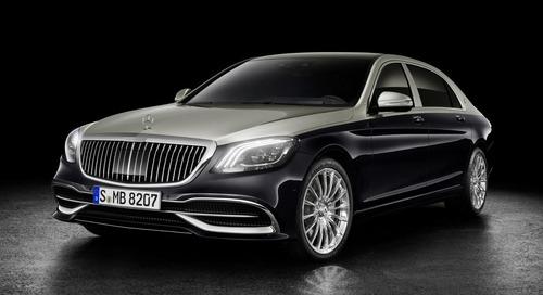 Geneva Awaits the 2019 Mercedes-Maybach S-Class