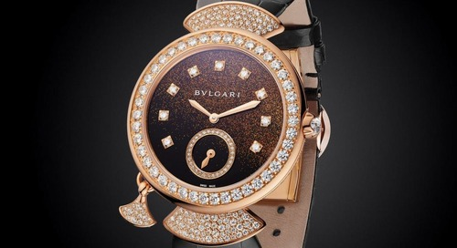 Bulgari's Diva Finissima: The World's Thinnest Minute Repeater