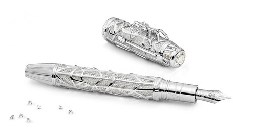 Montblanc Unveils Spider-Inspired Writing Collection