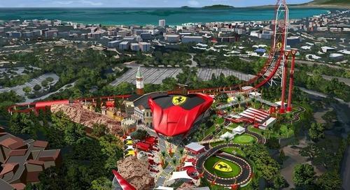 Ferrari Land Theme Park Opens its Doors in Spain