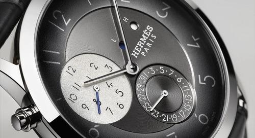 New Slim d'Hermes Timepiece Case Made from Palladium