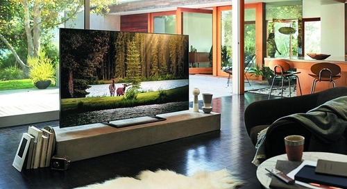 Samsung's QLED TVs Blend into your Living Room Décor