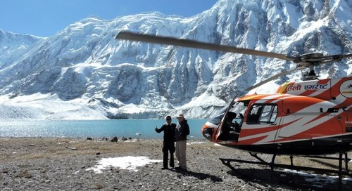 Wheeler Expeditions Offer £22k Himalayan Helicopter Adventure