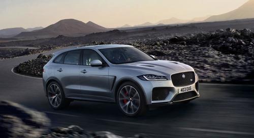 Jaguar Unveils High-Performance F-Pace SVR