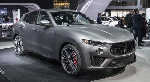Maserati Levante Trofeo Debuts at New York Auto Show