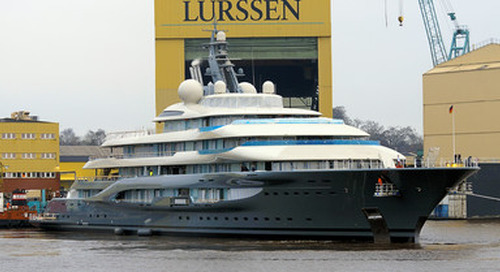 Top 100 Forecast: The Largest Yachts Arriving in 2018