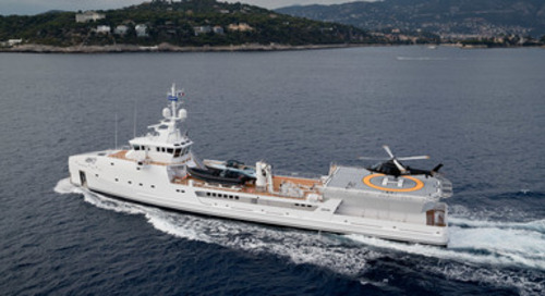 DAMEN Superyacht Support Vessel Game Changer Sold