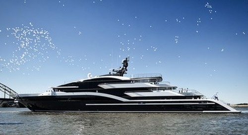 Oceanco's Project Shark Delivered