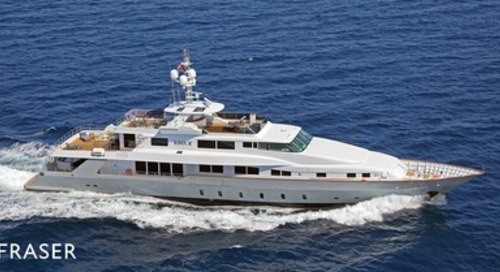 Sale of M/Y RIMA II by Fraser Yachts