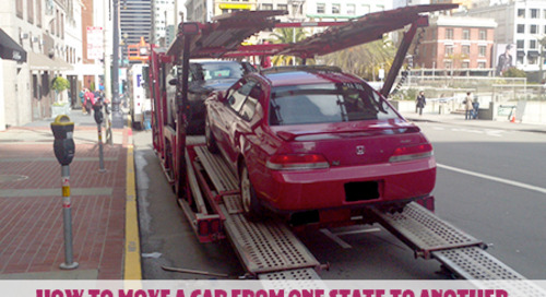 How to Move a Car from One State to Another