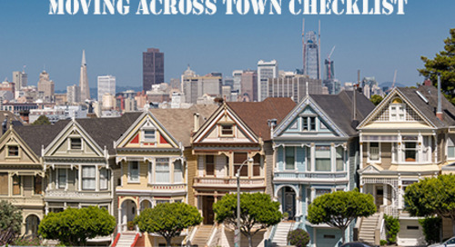 Moving Across Town Checklist: 10 In-Town Moving Tips