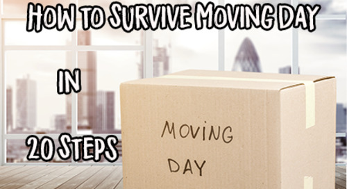Moving Day Checklist: How to Survive Moving Day in 20 Steps