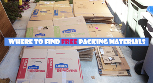Where to Find Free Packing Materials: Free is Always Cheaper