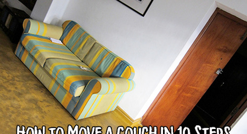 How to Move a Couch in 10 Steps: Sofa, So Good