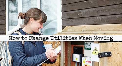 How to Change Utilities When Moving House