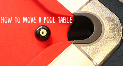 How to Move a Pool Table to Another House (Without Movers)