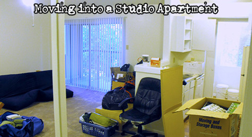 SEVEN (7) Tips for Moving into a Studio Apartment