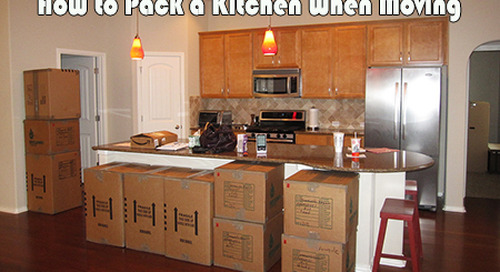 How to Pack a Kitchen When Moving: The Pack-In-One-Bite Guide