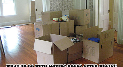 What to Do with Moving Boxes After Moving