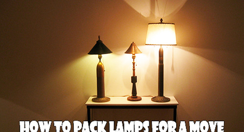 How to Pack Lamps for a Move: Let There Be Light Again