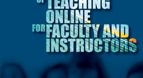 Initiating instructors to online learning: 10 fundamentals