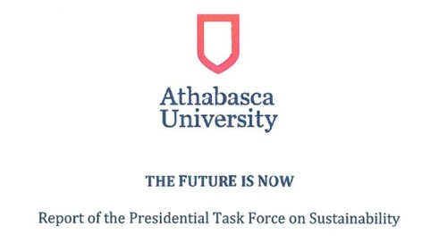 Advice to the Alberta government on Athabasca University's sustainability report