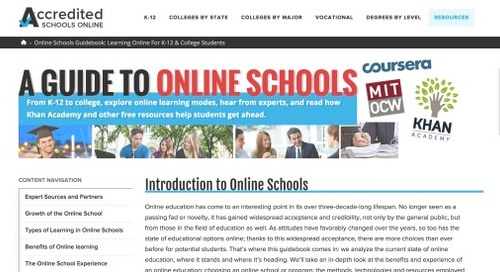 A reliable guide to online schools and colleges in the USA