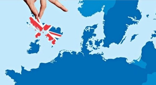 Brexit and online learning in Europe