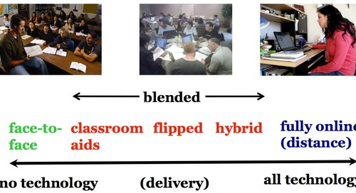 10 key takeaways about differences between classroom, blended, online and open learning