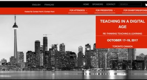 More details on ICDE's World Conference on Online Learning