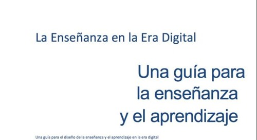 A Spanish version of 'Teaching in a Digital Age' is now available